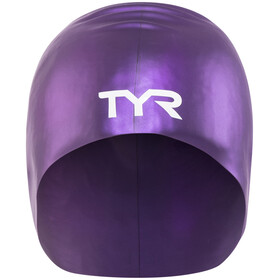 TYR Wrinkle-Free Long Hair badmuts Dames violet